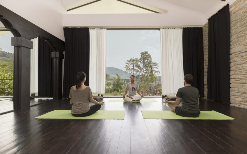Himalayas The Farm- Yoga-Meditation
