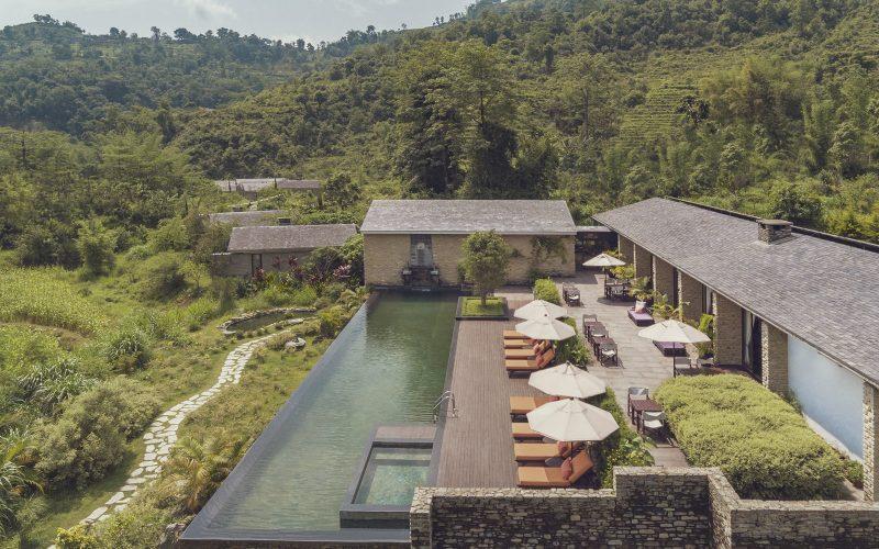 Himalayas The Farm- Pool- Exterior