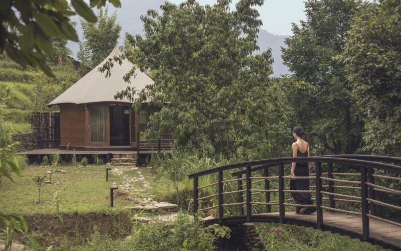 Himalayas Lake View-Lifestyle