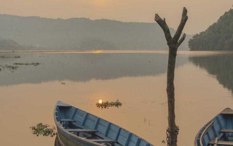 Himalayas Lake View- Lake Sunrise