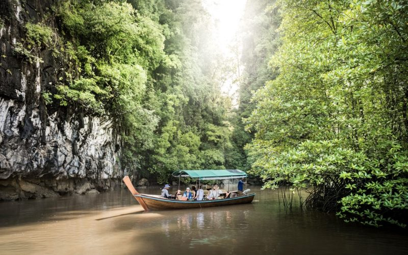Longtail boat excursion