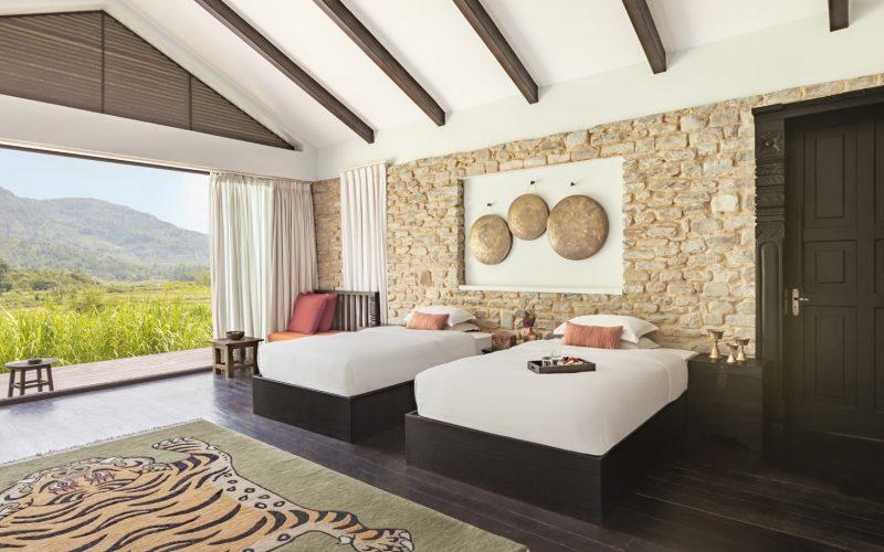 Himalayas The Farm- Room- Beds