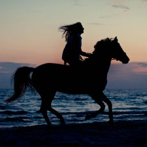 horse-back-riding-on-the-beach-in-sunset-XT2RRQX