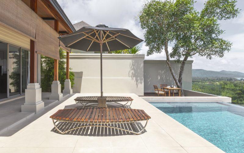 villa 2 pool phuket pavilions
