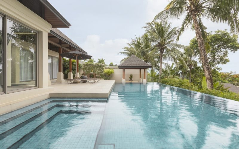 villa 5 pool phuket pavilions