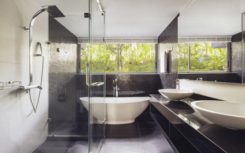 villa 8 bathroom phuket pavilions