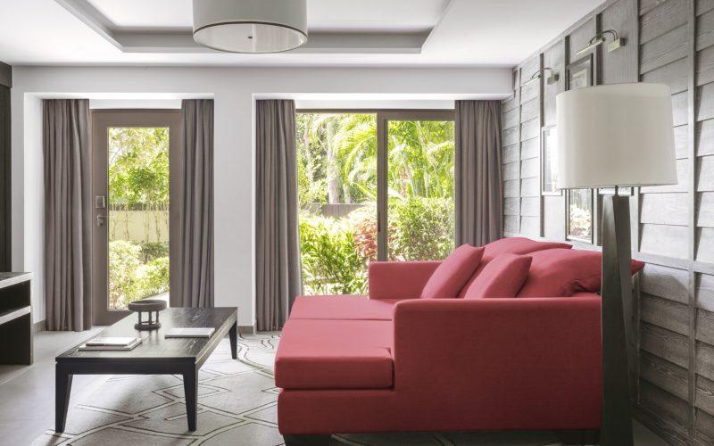 villa 8 living room phuket pavilions