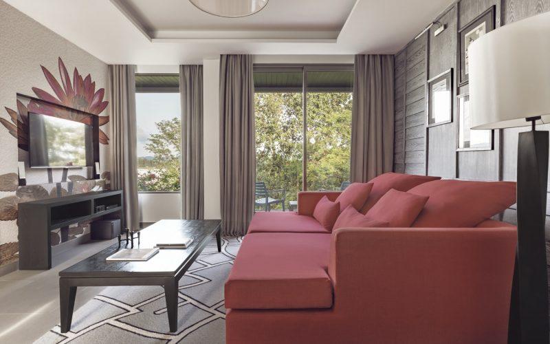 villa living room phuket pavilions