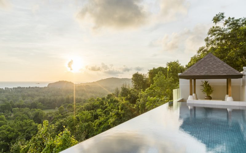 villa pool phuket pavilions